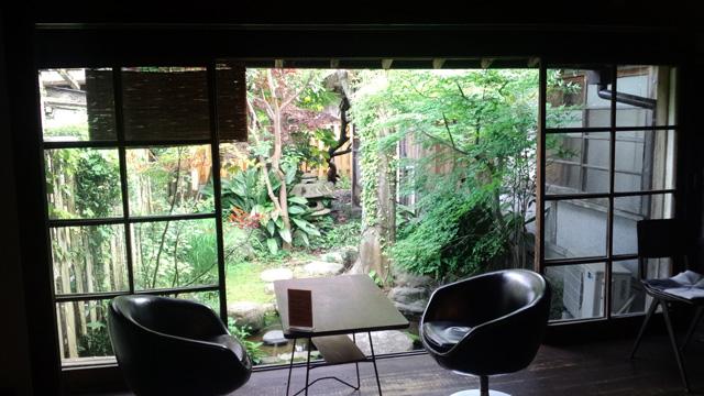 萩の古民家カフェ