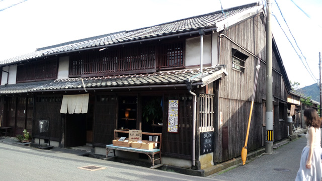 萩のカフェ