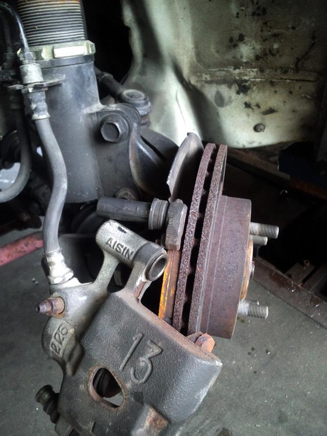 ブレーキの点検整備
