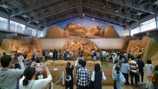 砂の美術館(鳥取市)