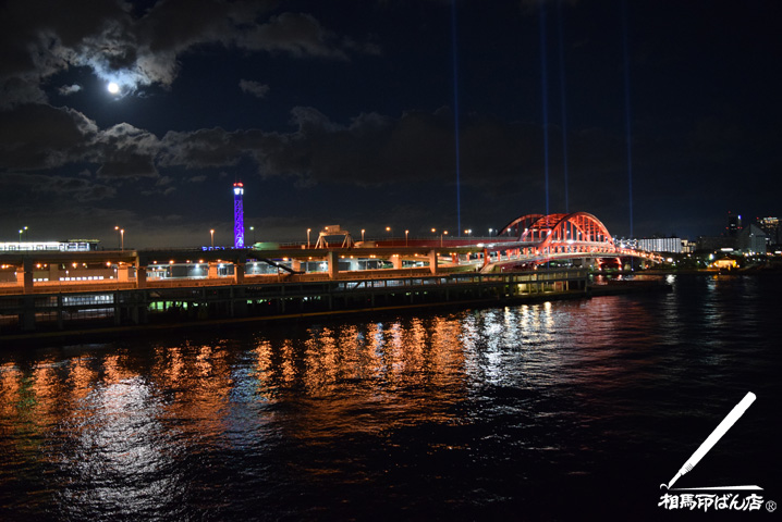 神戸三宮港の夜景
