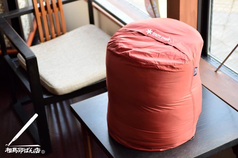 スノーピークの寝袋