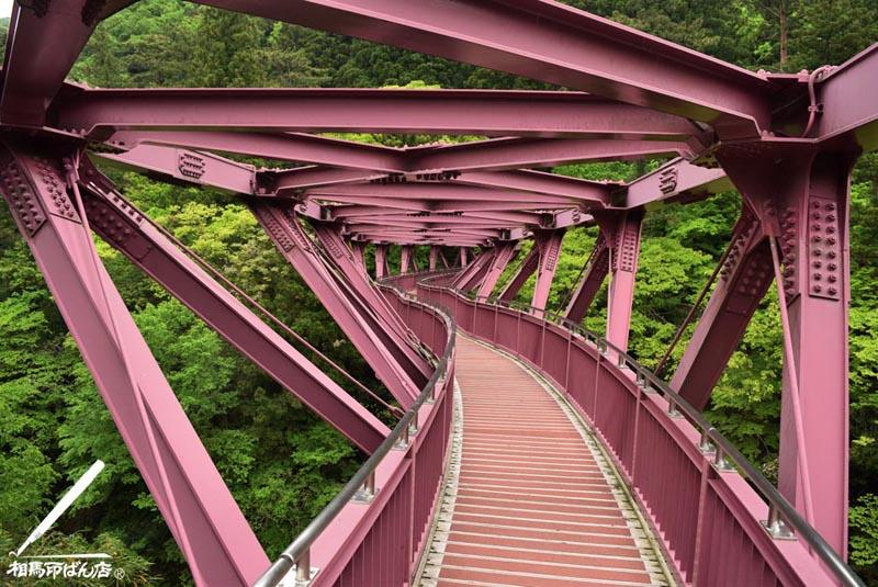 山中温泉のあやとり橋