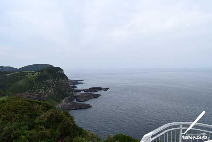 大バエ灯台からの眺め