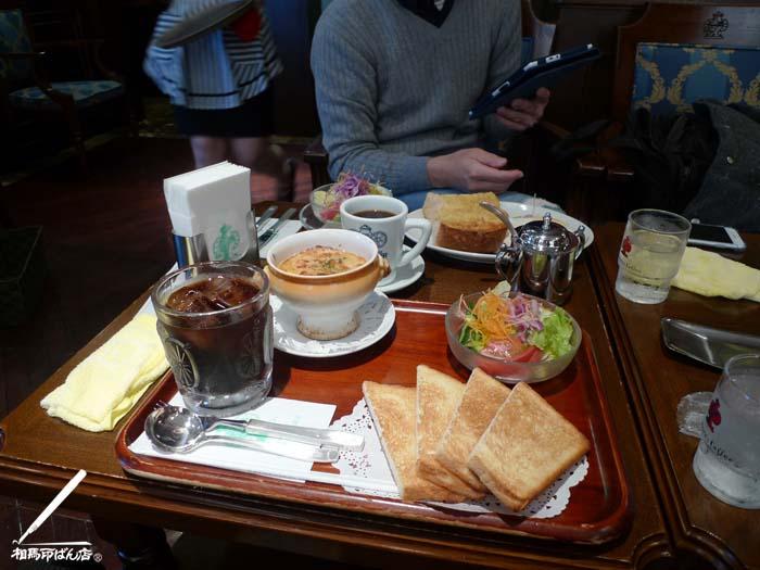 神戸で朝食