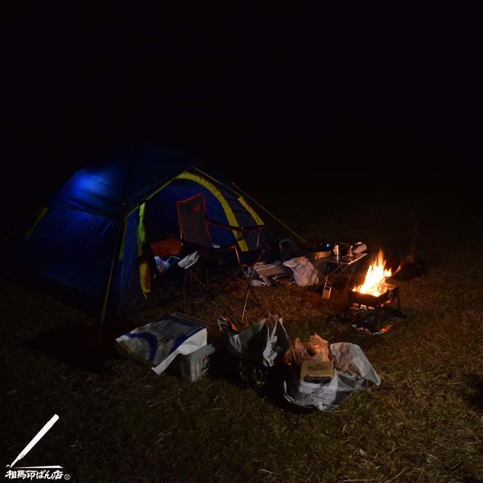 川南町、青鹿キャンプ場で1泊 無料のキャンプ場です。