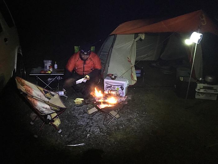 高ボッチ高原でキャンプ