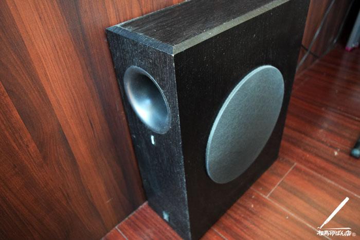 心地いい低音が響くヤマハのウーハーNS-SW210