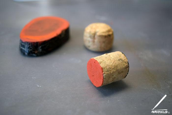 ワインのコルクで道具をつくる