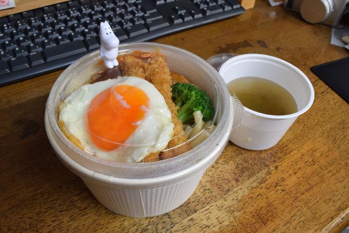 ホテル四季亭の弁当。 美味しいロコモコ!