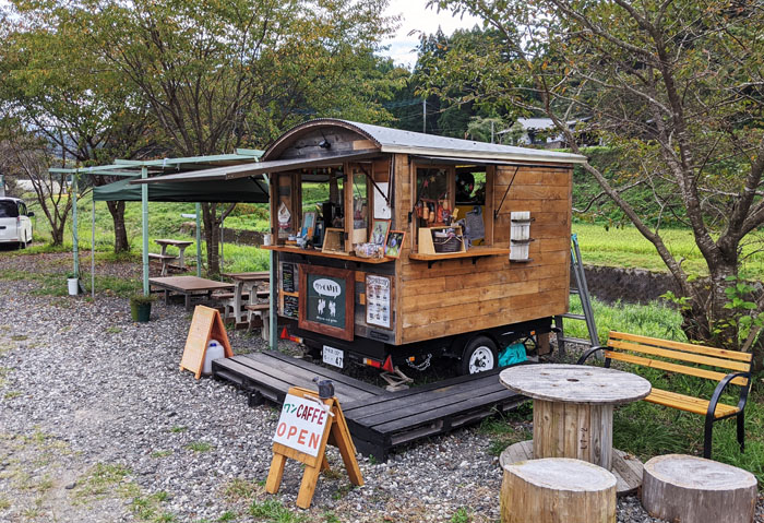 黒川温泉の近くにある可愛いカフェ