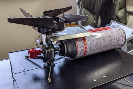 中華製のガスバーナー