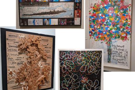 都城市美術館で開催されている木梨憲武展